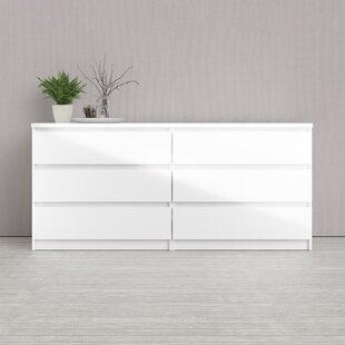 Kepner 17 Drawer Double Dresser