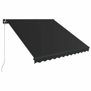 Paddy 3.5m W X 2.5m D Retractable Patio Awning By Sol 72 Outdoor