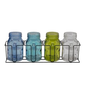 Mason 4 Piece Kitchen Canister Set