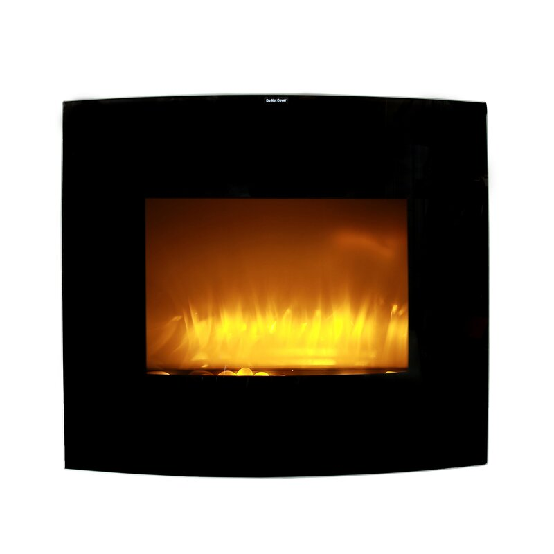Ebern Designs Dumont Wall Mounted Electric Fireplace Wayfair