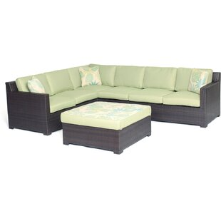 Ashdown 5 Piece Sectional Set with Cushions