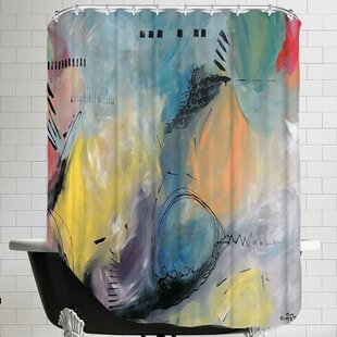 Balloune Er Collour Single Shower Curtain
