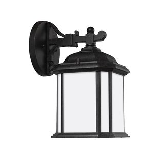 Best Burtt 1-Light Outdoor Wall Lantern By Darby Home Co