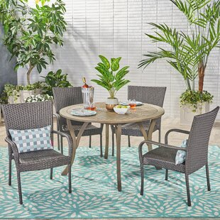 Wrought Studio Arend 5 Piece Dining Set