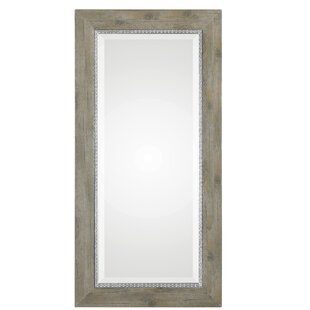 House of Hampton Thelonius Sheyenne Wood Accent Mirror