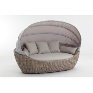 Brayden Studio Seager Patio Daybed with Cushions