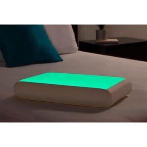 Glow in the Dark Memory Foam Pillow by Luxury Home