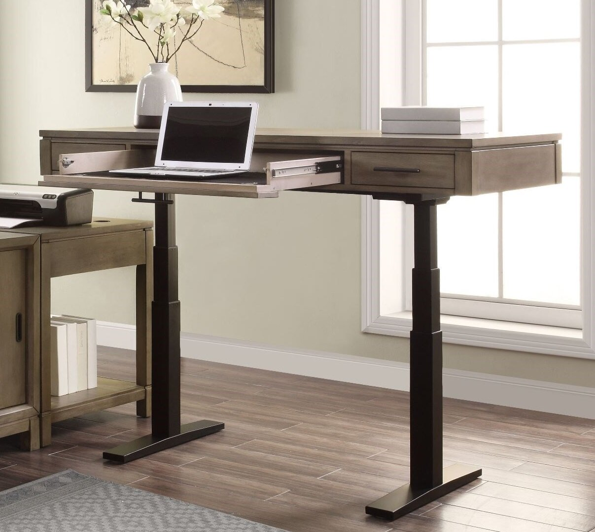 Foundry Select Cowles Height Adjustable Standing Desk Wayfair