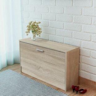 10 Pair Shoe Storage Bench By Ebern Designs