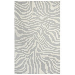 Harpreet Hand Tufted Wool Beige Gray Area Rug