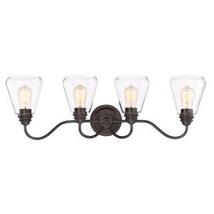 Coldiron 4-Light Vanity Light By Williston Forge