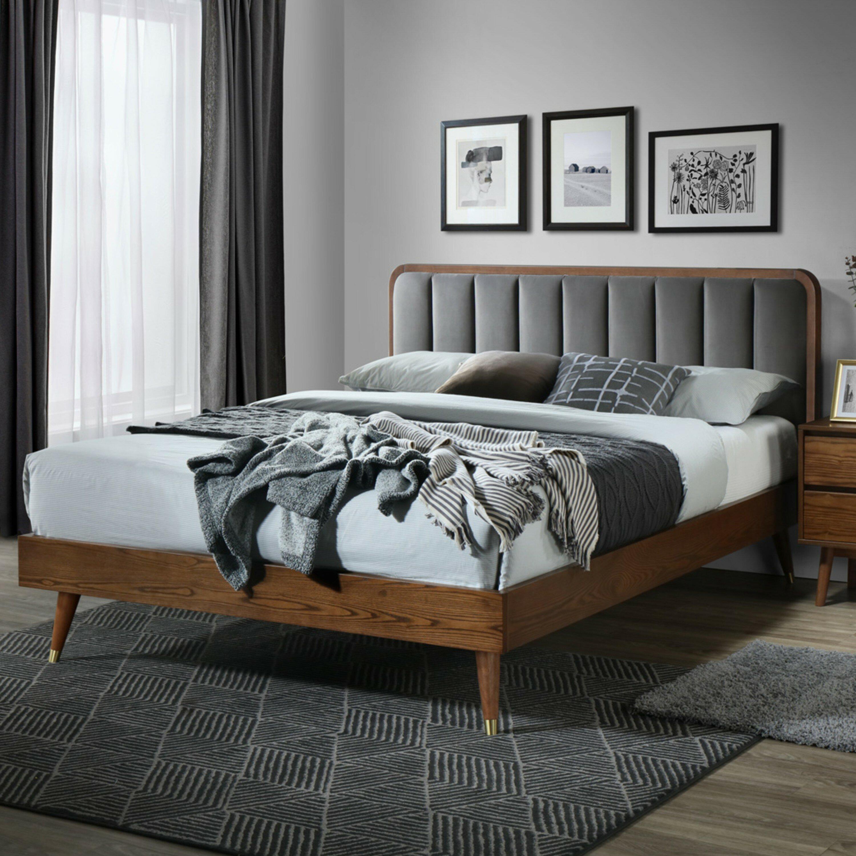 Picture of: Corrigan Studio Canaday Queen Low Profile Platform Bed Reviews