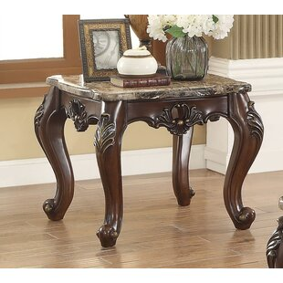 Best Reviews Robbins End Table By Fleur De Lis Living