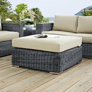 Brayden Studio Keiran Ottoman with Cushion