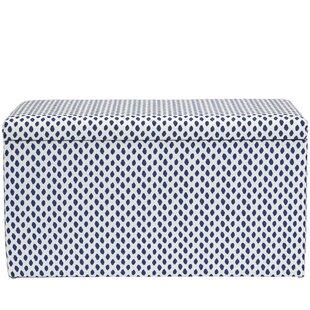 Latitude Run Bernadine Upholstered Storage Bench