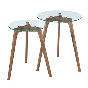 opulent ideas modern side tables. Courtlyn 2 Piece Nesting Tables Modern  AllModern