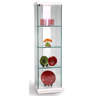 Lighted Curio Cabinet by Chintaly Imports