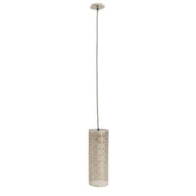 1-light Cylinder Pendant Cole & Grey