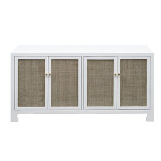 4 Door Accent Cabinet by Worlds Away SKU:EE538398 Price Compare