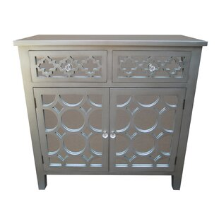 Affordable 2 Drawer 2 Door Accent Cabinet By Jeco Inc.