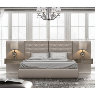 Knorr Upholstered Standard Bed by Everly Quinn