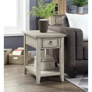 Fulcher End Table with Storage by Highland Dunes