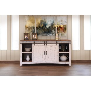 Bergeronnes 2 Sliding Central Door Sideboard by Gracie Oaks