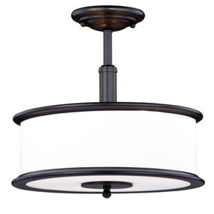 Chin 3-Light Semi Flush Mount ..