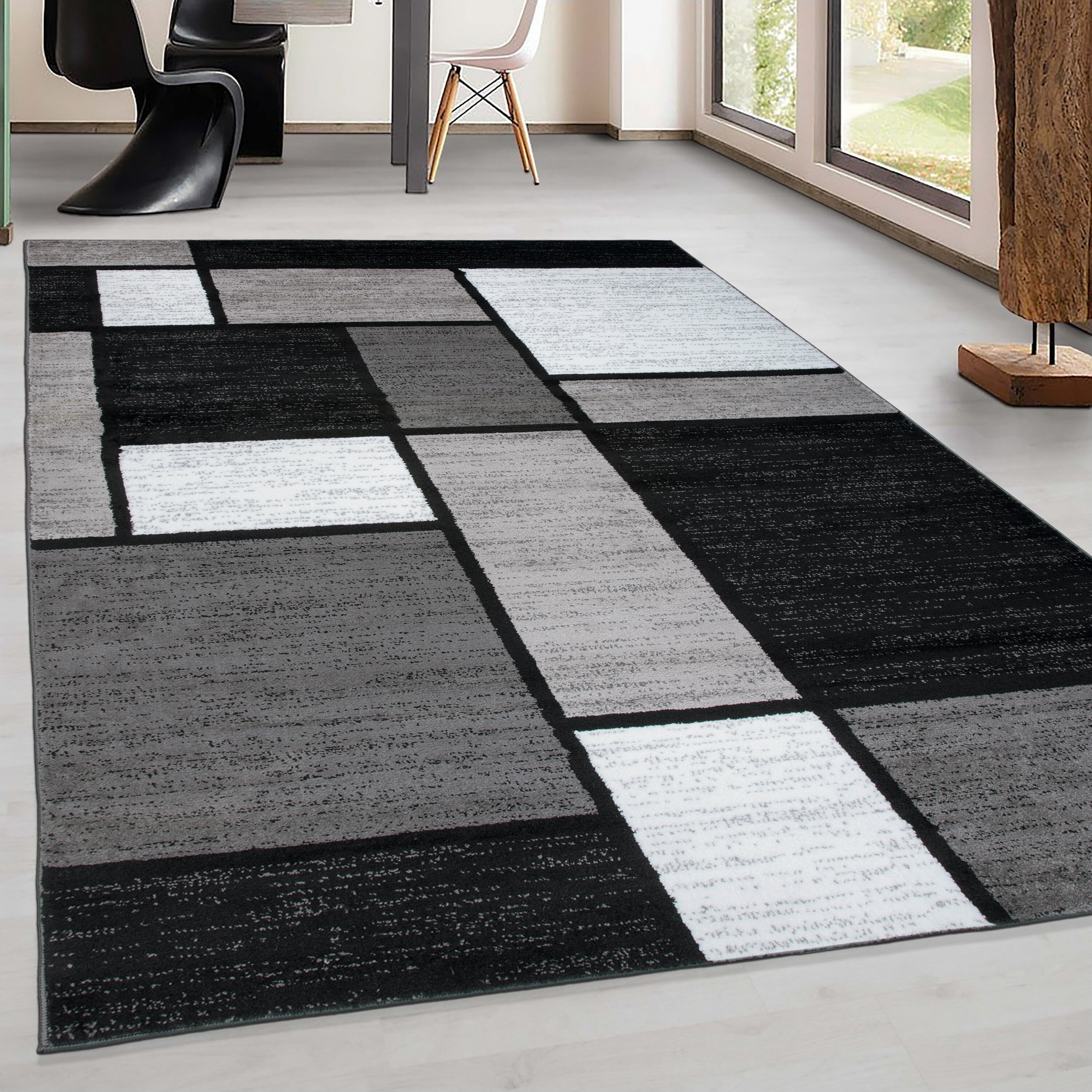 Wayfair Black Gray Silver Area Rugs You Ll Love In 2021