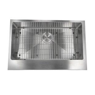 Pro Series Retro- Fit 32.5 L x 21.25 W Farmhouse/Apron Kitchen Sink by Nantucket Sinks