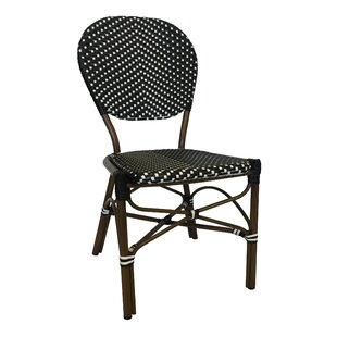 Stacking Patio Dining Chair by String Light Company New Design