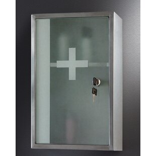 Keely 9.88 W x 15.75 H Wall Mounted Cabinet by Symple Stuff