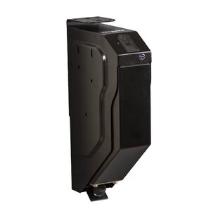 Drop Down Pistol Gun Safe with Biometric Lock by Tracker Safe