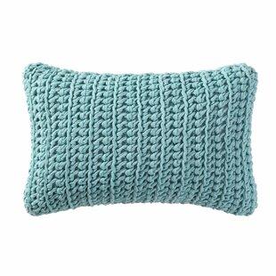 Kinman Knitted Cotton Lumbar Pillow