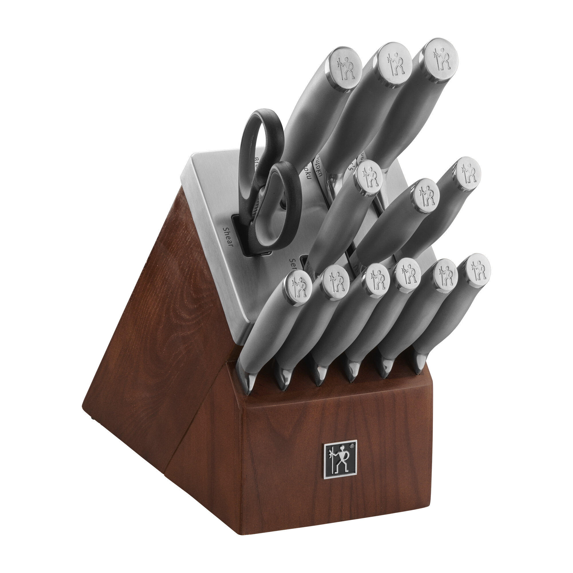 Henckels Modernist 14 Piece Knife Block Set Reviews Wayfair