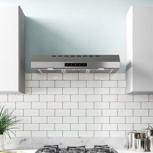 30 400 CFM Convertible Under Cabinet Range Hood by Kitchen Bath Collection