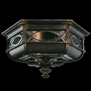 Fine Art Lamps Warwickshire 3-Light Flush Mount