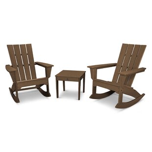 Quattro 3 Piece Conversation set by POLYWOOD?