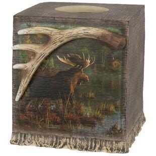 Loon Peak Fuiloro Tissue Box Cover