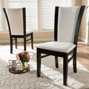 Joos Upholstered Dining Chair (Set of 2) Ebern Designs