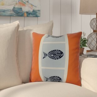 Bartow Fish Chips Throw Pillow