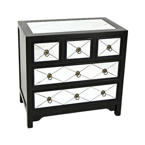 Helene 5 Drawer Dresser by Wayborn