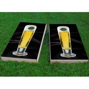 Custom Cornhole Boards Nice Cold Tall Beer Cornhole Game (Set of 2)