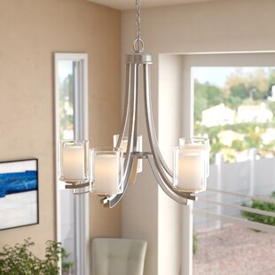 Ebern Designs Demby 5-Light Shaded Chande..