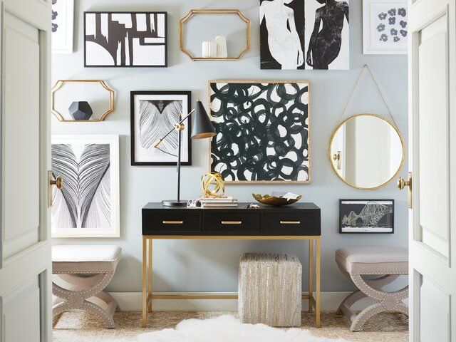 Excellent Modern Wall Mirrors Allmodern Ocoug Best Dining Table And Chair Ideas Images Ocougorg