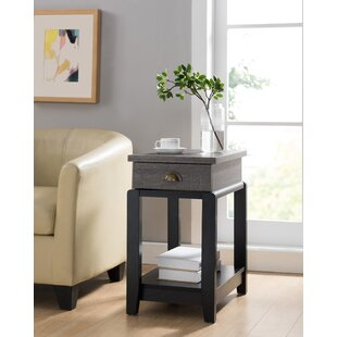 Dianna End Table by Gracie Oaks