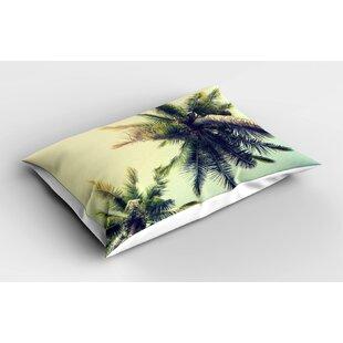Palm Tree Pillow Shams Wayfair