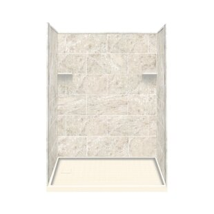 Affordable Price 75 x 60 x 36 Three Panel Shower Wall By Samson