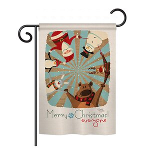 Everyone's Xmas 2-Sided Vertical Flag by Breeze Decor