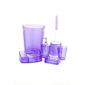 glady 6 piece bathroom accessory set